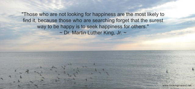 MLK - Happiness for others