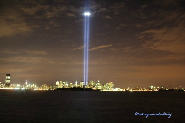 Sept 11 Tribute Lights Blog