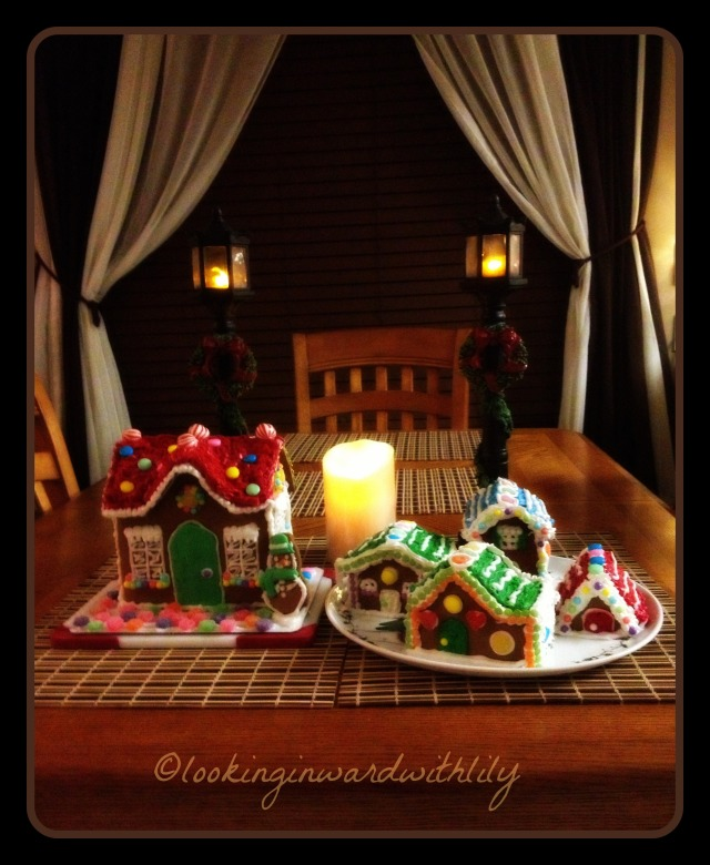 A Gingerbread House Blog