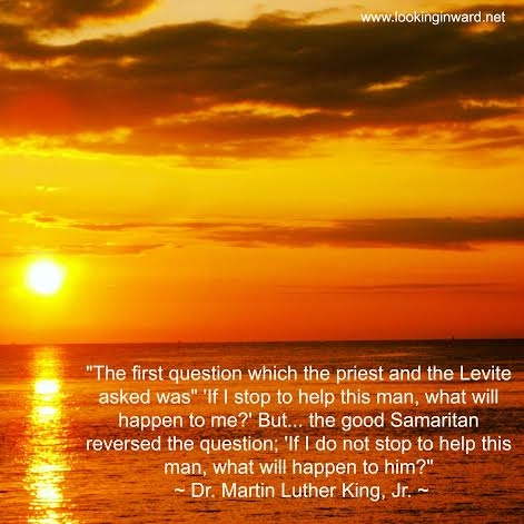 Martin Luther King Sunset Quote